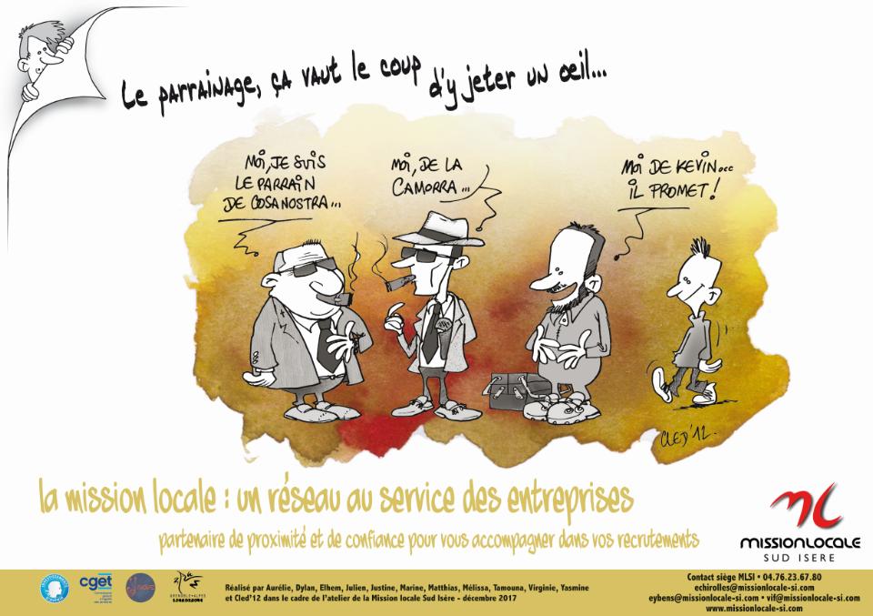 Découvrez le «Parrainage» proposé par la Mission Locale sud Isère