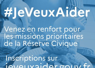#JeVeuxAider – Réserve civique Covid-19